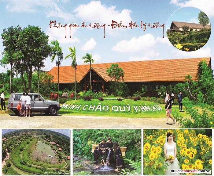 Du lịch sinh thái Kotam đậm chất tây nguyên